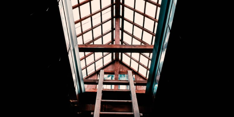 Ladders, dirty windows and the need for the light of Christ